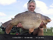 31lbs4 Caught by Eddie