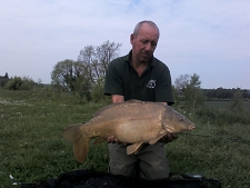 17lbs9 Caught by mally