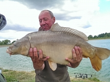 22lbs2 Caught by mally