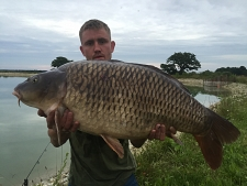 32lbs0 Caught by Dan