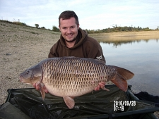 32lbs8 Caught by Richard Squibb