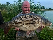33lbs0 Caught by Jim Shelley