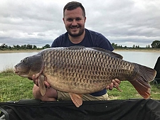 34lbs0 Caught by Richard
