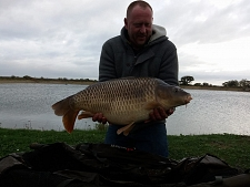 26lbs8 Caught by Lee