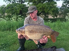 25lbs8 Caught by Simon Price