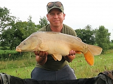18lbs2 Caught by Ian palmer