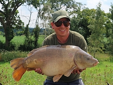 24lbs10 Caught by Ian palmer