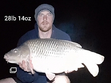 28lbs14 Caught by Pete H