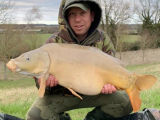 23lbs0 Caught by Ian Palmer