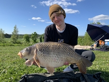 33lbs8 Caught by Jack Clarke
