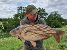 25lbs0 Caught by Ian palmer