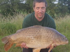 24lbs10 Caught by Mark Howes